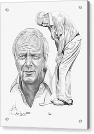 Arnold Palmer Acrylic Print