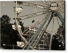 Arnolds Park Ferris Wheel Acrylic Print
