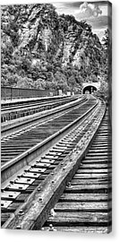 Around The Bend Acrylic Print by JC Findley