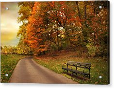 Around The Bend Acrylic Print by Jessica Jenney