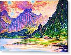 Around The Bend Acrylic Print