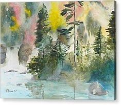 Around The Bend Acrylic Print by Kris Dixon
