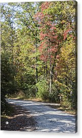 Around The Bend Acrylic Print by Ricky Dean