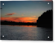 Around The River Bend Acrylic Print by Ross Powell