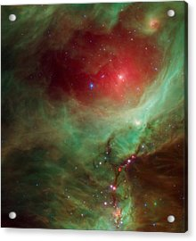 Around The Sword Of The Constellation Orion  Acrylic Print