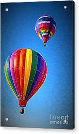 Around The World Acrylic Print by A New Focus Photography