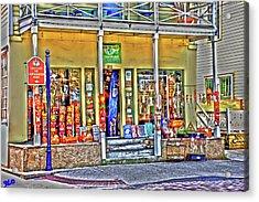 Around The World Marketplace Saint Augustine Acrylic Print