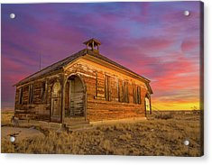 Aroya Sunrise Acrylic Print