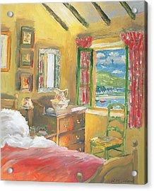 Arran View Acrylic Print by William Ireland