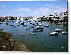 Arrecife - Lanzarote Acrylic Print by Cambion Art
