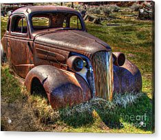 Arrested Decay Acrylic Print by Scott McGuire