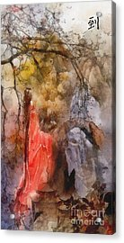 Arrival Acrylic Print by Mo T