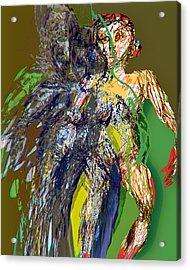 Arrival Acrylic Print by Noredin Morgan