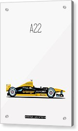 Arrows Asiatech A22 F1 Poster Acrylic Print