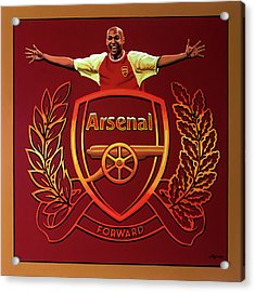 Arsenal London Painting Acrylic Print