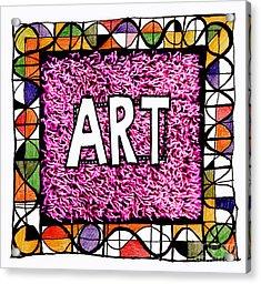 Art 1  Acrylic Print by Andy  Mercer