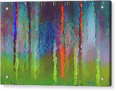 Art Abstract Acrylic Print by Jim Hatch