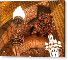 Art Deco Ceiling Acrylic Print