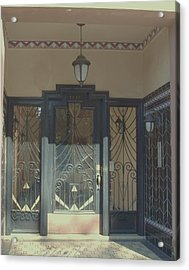 Art Deco Door Acrylic Print by James Johnstone