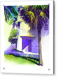 Art Deco Hotel Miami Acrylic Print