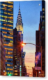 Art Deco Acrylic Print by JC Findley