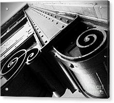 Art Deco Steel Acrylic Print by James Aiken