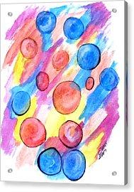 Art Doodle No. 25 Acrylic Print