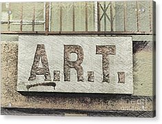 A.r.t Acrylic Print