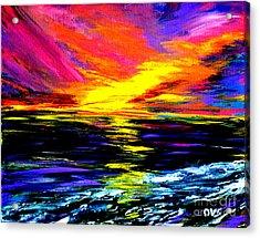 Art For Health And Life. Painting 8. Splendid Acrylic Print