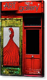 Art Gallery Shop Front Acrylic Print