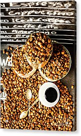 Art In Commercial Coffee Acrylic Print