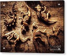 Art In Palaeontology Acrylic Print
