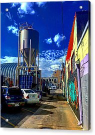 Art In The Alley Acrylic Print