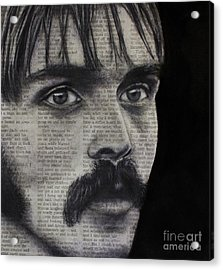 Art In The News 95-steve Prefontaine Acrylic Print