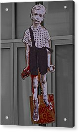 Art Lower Manhattan Appropriated Diane Arbus Photo Acrylic Print