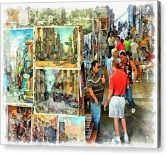 Art Market Acrylic Print