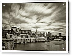 Art Museum Time Exposer Acrylic Print by Jack Paolini