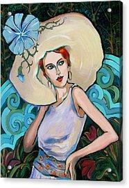 Art Nouveau Acrylic Print by Dianna Willman