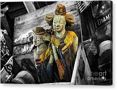 Art Of Aging 11 Acrylic Print by Bob Christopher