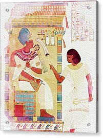 Art Of Ancient Egypt Acrylic Print