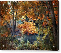 Art Of Autumn Acrylic Print