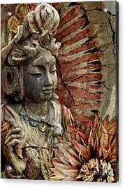 Art Of Memory Acrylic Print by Christopher Beikmann