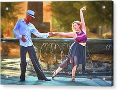 Art Of The Dance Acrylic Print by John Haldane