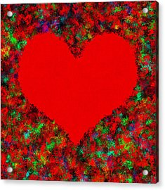 Art Of The Heart Acrylic Print