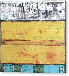 Acrylic Print featuring the painting Art Print Abstract 34 by Harry Gruenert