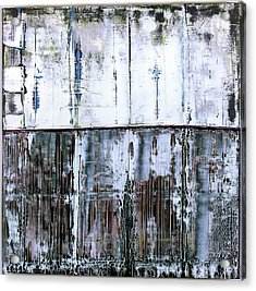 Acrylic Print featuring the painting Art Print Abstract 45 by Harry Gruenert