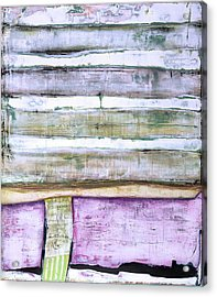 Acrylic Print featuring the painting Art Print Abstract 93 by Harry Gruenert