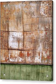Acrylic Print featuring the painting Art Print Abstract 35 by Harry Gruenert