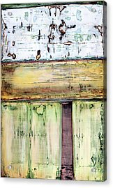 Acrylic Print featuring the painting Art Print Abstract 52 by Harry Gruenert