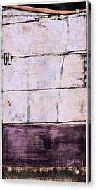 Acrylic Print featuring the painting Art Print Abstract 100 by Harry Gruenert